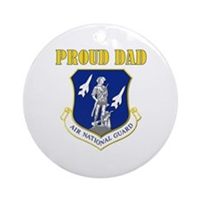 Proud dad Ornament (Round)