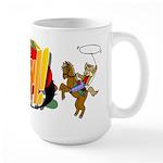 Cowgirl Large Mug