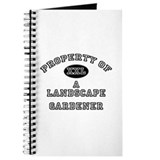 Property of a Landscape Gardener Journal