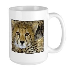 Cheetah Face Mug
