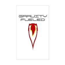 Gravity Fueled Wingsuit Skydiving Decal