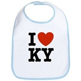 I Love KY (kentucky) Bib