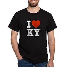 I Love KY (kentucky) T-Shirt