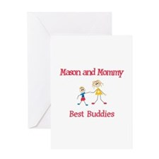 Mason & Mommy - Buddies Greeting Card