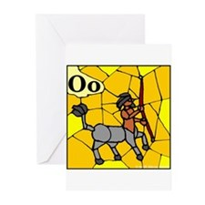 O is for Onocentaur Greeting Cards (Pk of 10)