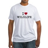 I Heart Wildlife Shirt