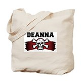 deanna is a pirate Tote Bag