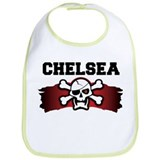 chelsea is a pirate Bib