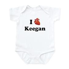 I (Heart) Keegan Infant Bodysuit