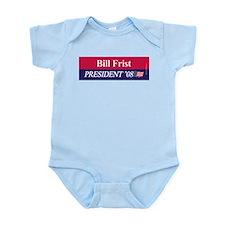 """""""Bill Frist for President"""" Infant Creeper"""