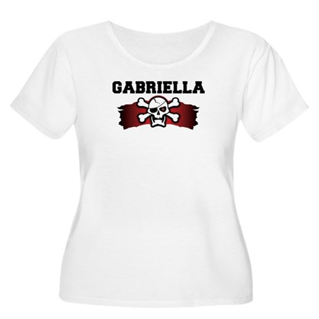 gabriella is a pirate Women's Plus Size Scoop Neck