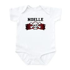noelle is a pirate Infant Bodysuit