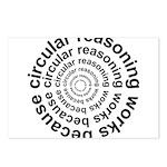 Circular Reasoning Works Postcards (Package of 8)