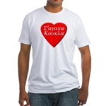 S'agapo Koukla Fitted T-Shirt