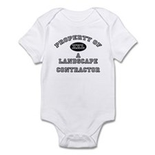 Property of a Landscape Contractor Infant Bodysuit