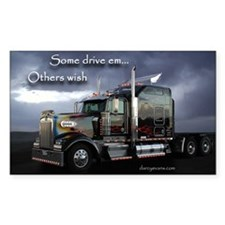 Truckers Rectangle Decal