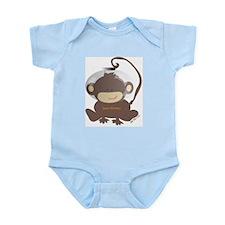 boys Space Monkey Infant Creeper