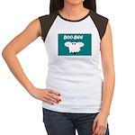 BOO-BEE Women's Cap Sleeve T-Shirt