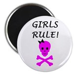 GIRLS RULE Magnet