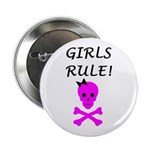 GIRLS RULE Button