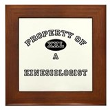 Property of a Kinesiologist Framed Tile