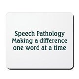 Speech therapist Classic Mousepad