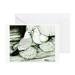 Ice Pigeons Greeting Cards (Pk of 10)