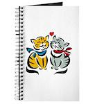 Yellow Cat Loves Grey Cat Journal