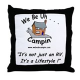 RV Lifestyle Throw Pillow