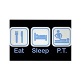 Eat, Sleep, PT Rectangle Magnet (10 pack)