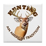 American Tradition Tile Coaster