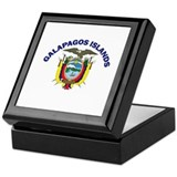 Galapagos Islands, Ecuador Keepsake Box