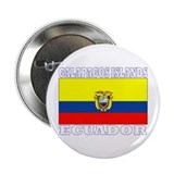 "Galapagos Islands, Ecuador 2.25"" Button (100 pack)"