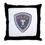 Tempe Police Throw Pillow