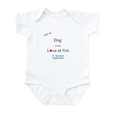Dog Lick Infant Bodysuit