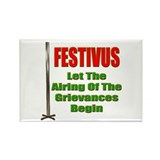 Festivus - Airing Of The Grievances Rectangle Magn