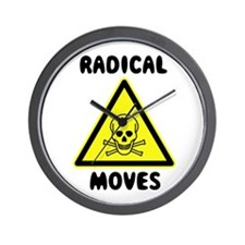 Radical Moves Wall Clock