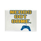 Nerds Got Game Rectangle Magnet