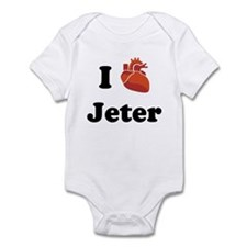 I (Heart) Jeter Infant Bodysuit