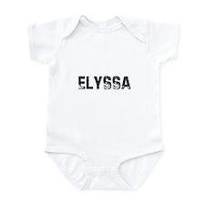 Elyssa Infant Bodysuit
