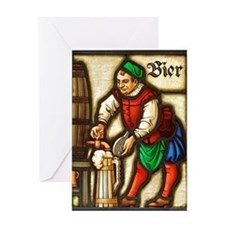 Bier Greeting Card