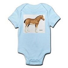 Clydesdale Horse Infant Creeper