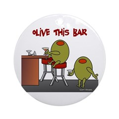 Olive This Bar Ornament (Round)