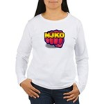 New Jersey Knockouts Women's Long Sleeve T-Shirt