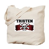 tristen is a pirate Tote Bag