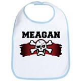 meagan is a pirate Bib