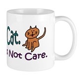 I Love My Cat... Small Mugs