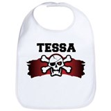 tessa is a pirate Bib