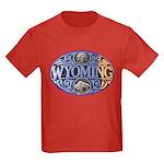 WYOMING Kids Dark T-Shirt