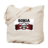 sonia is a pirate Tote Bag